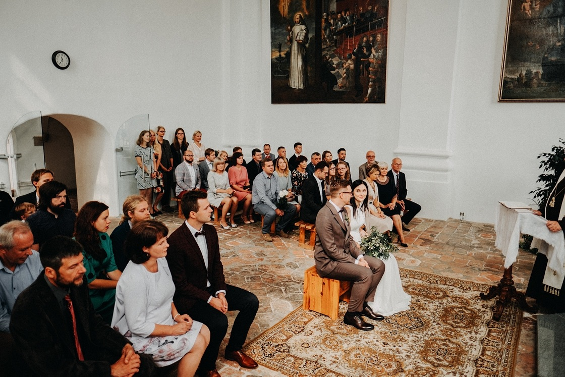 Vestuvės Bernardinų bažnyčia fotografas Vilnius