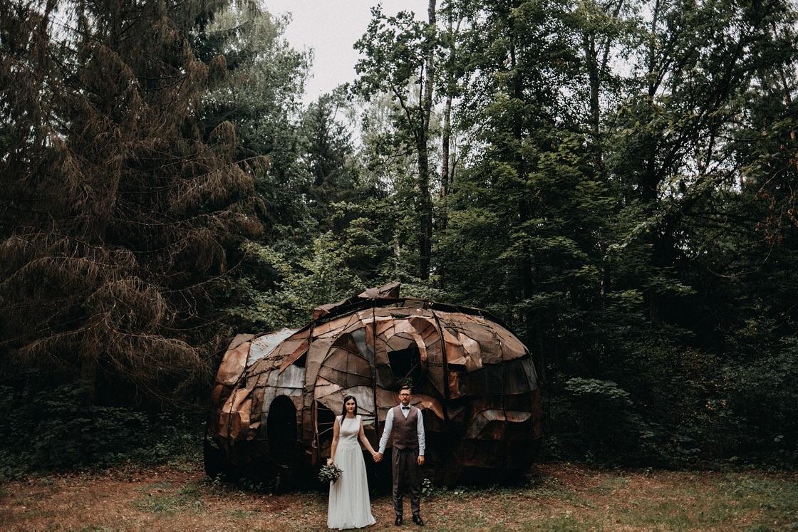 Vestuvinė fotosesija miške Vilnius fotografas