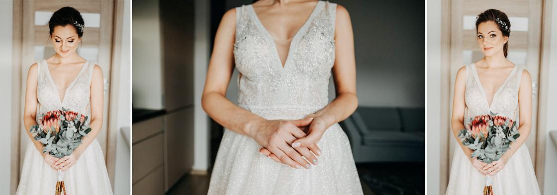 Vestuvės Kaunas fotografas suknelė nuotaka pasiruošimas rytas swarowski puokštė žiema